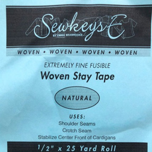 Woven Stay Tape