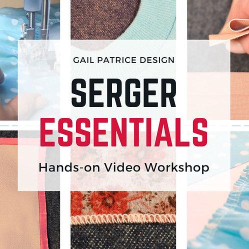 Serger Essentials Video Workshop
