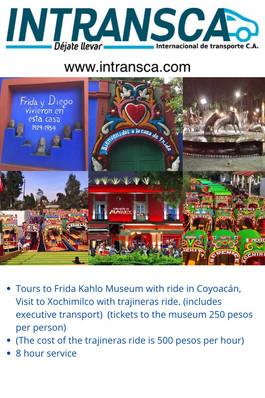 Trip to Frida Kahlo Museum Xochimilco an
