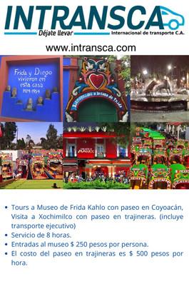 Tour Museo Coyoacan y Xochimilco