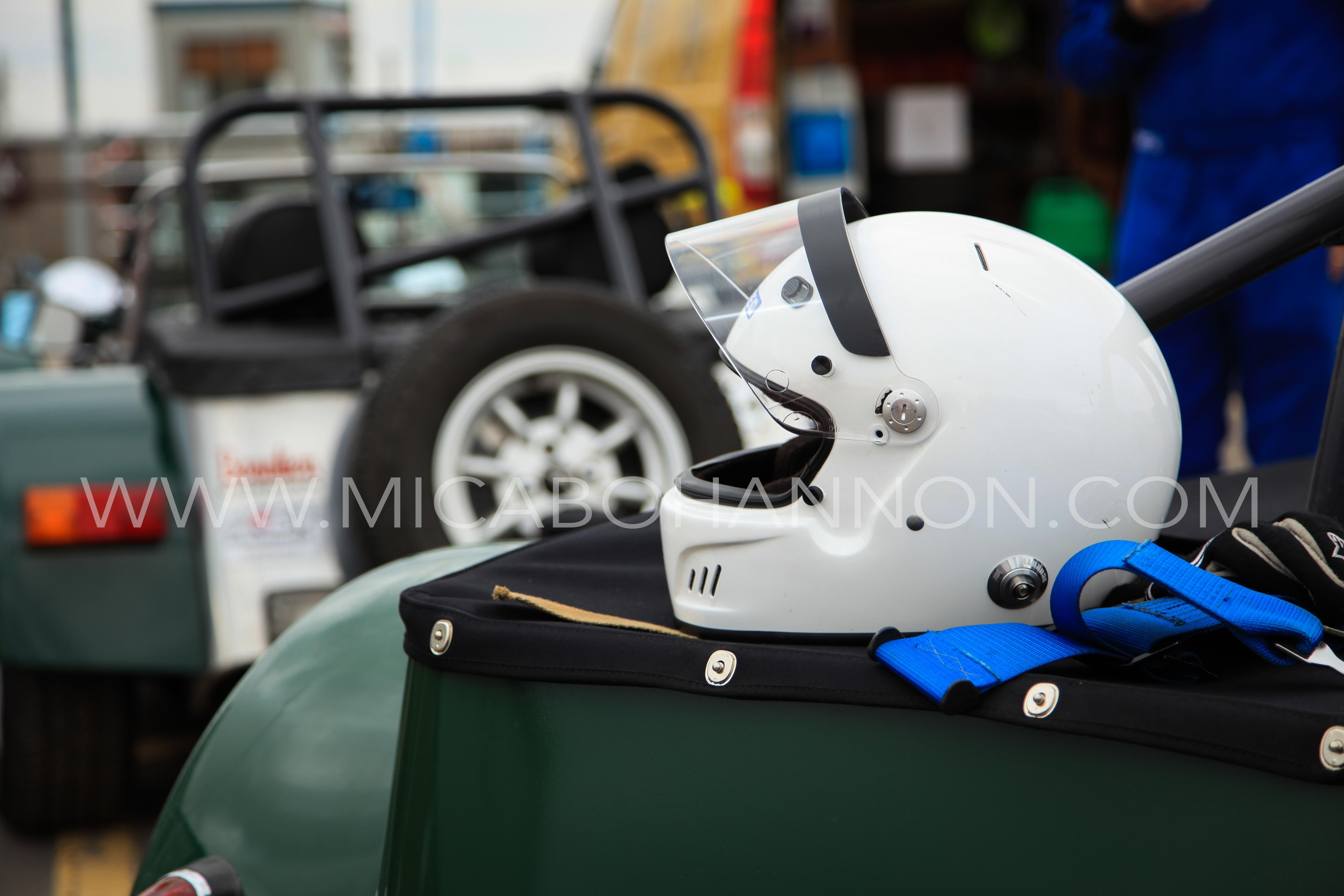 racing driver helmet