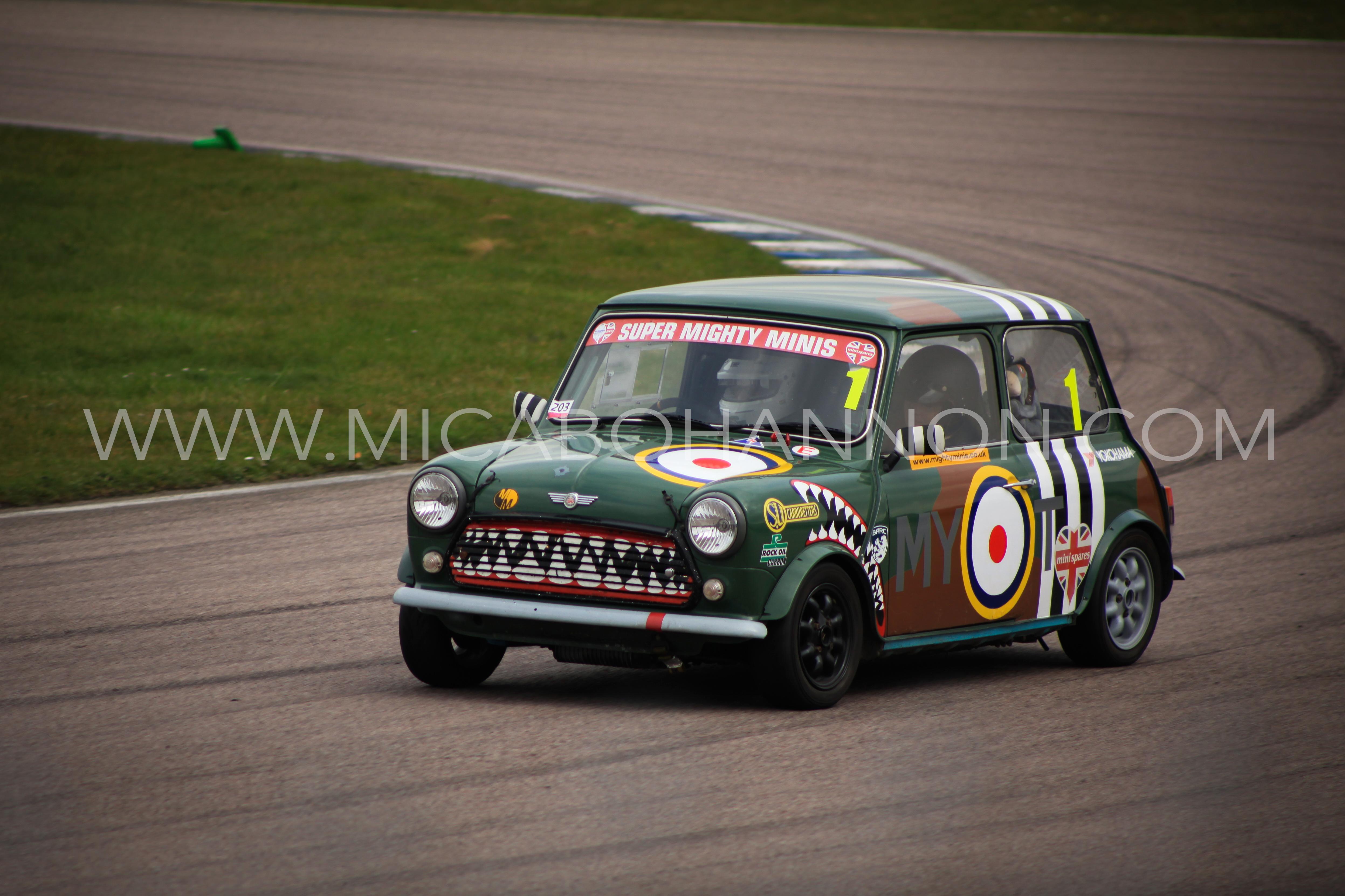 painted mini racing