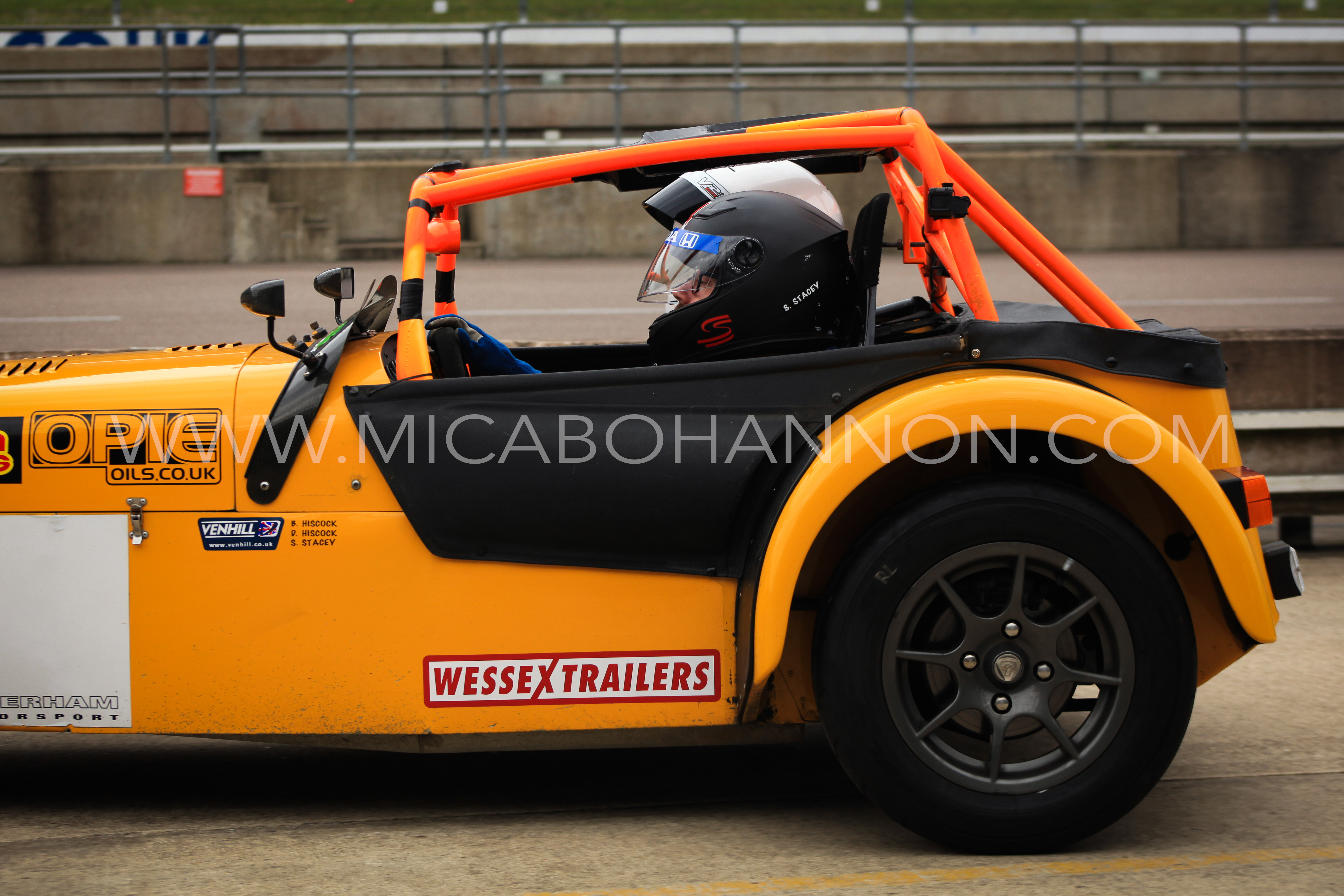 side view of caterham