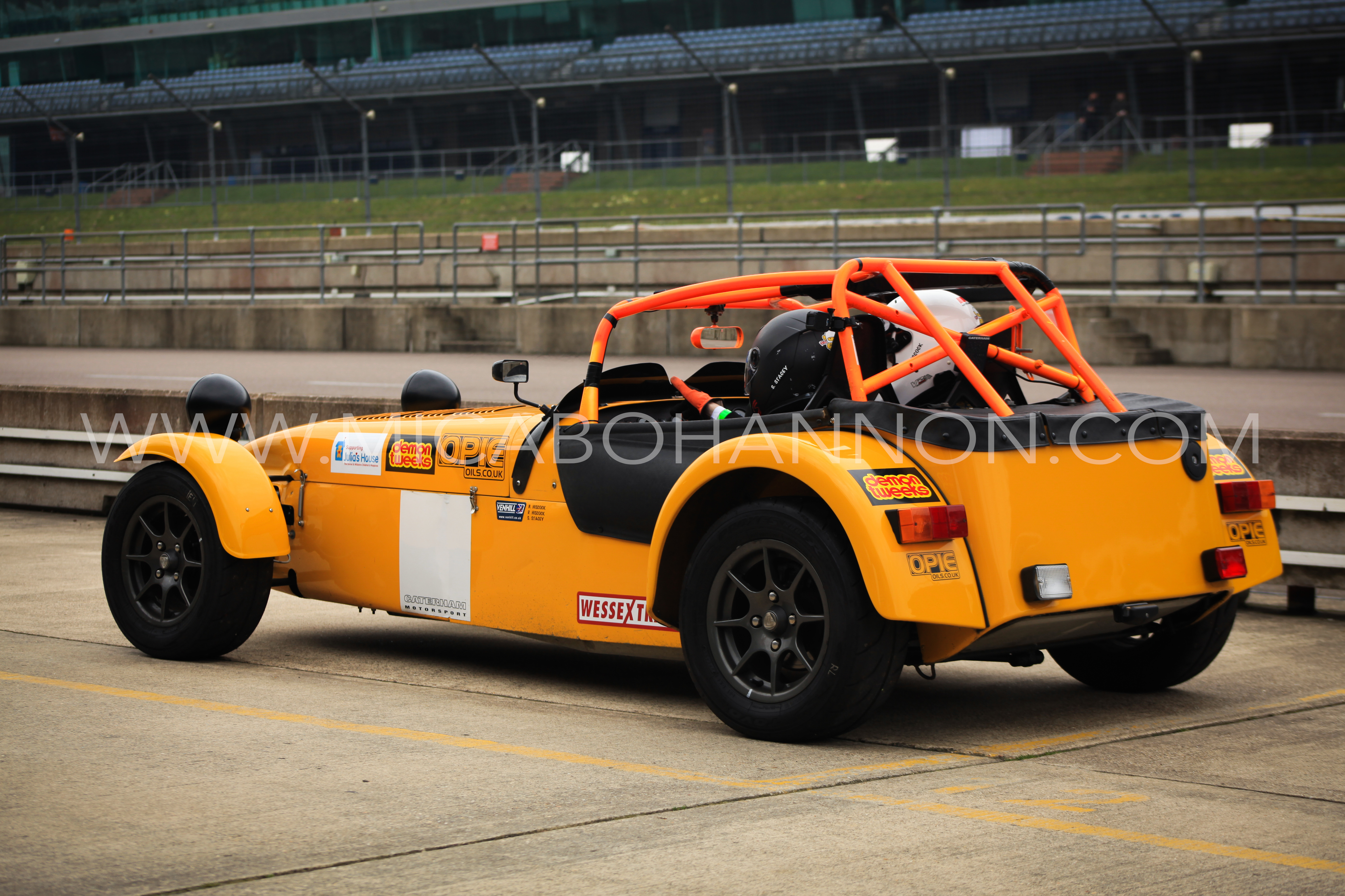 back view of caterham