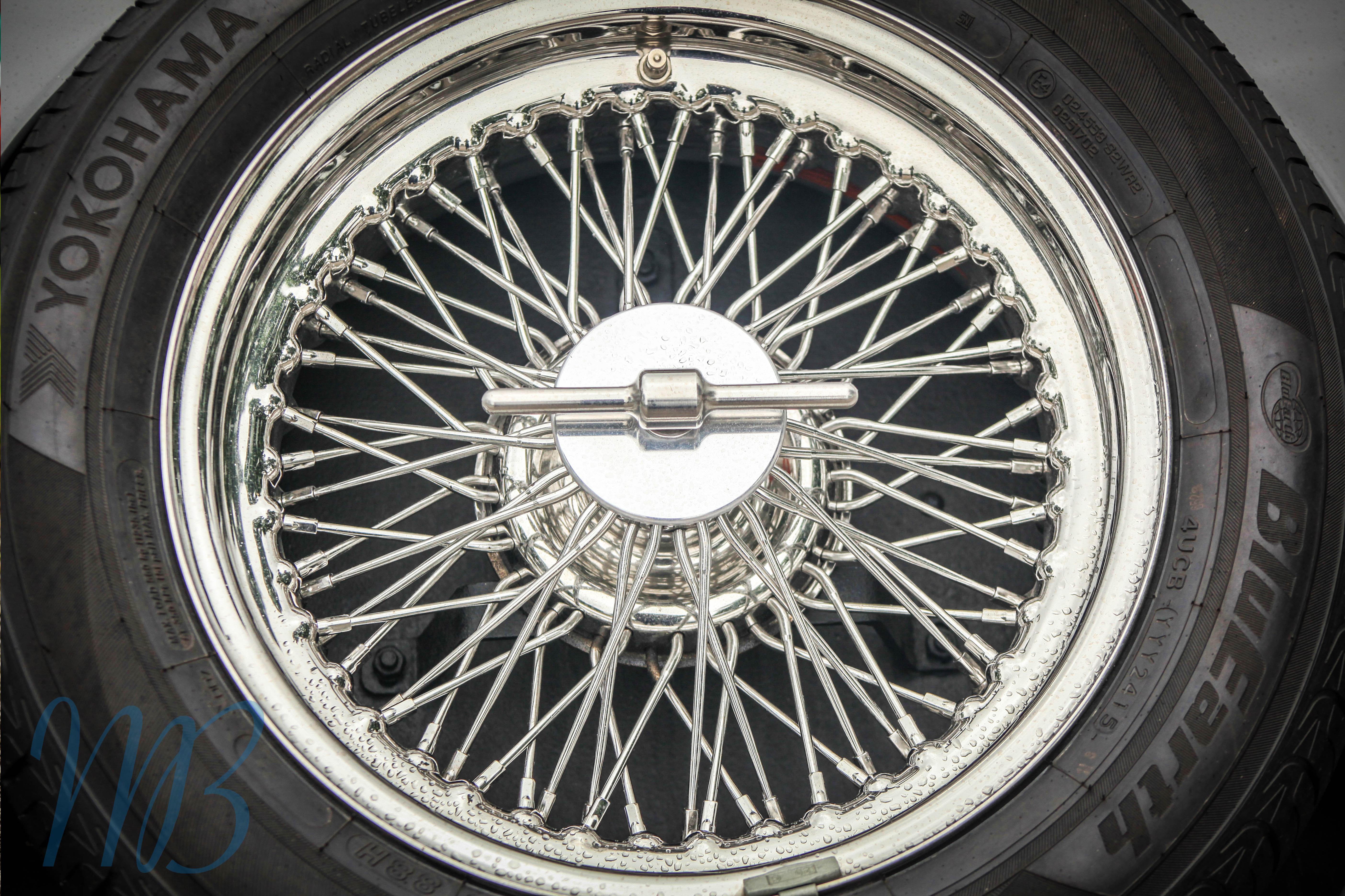 morgan wheel spokes