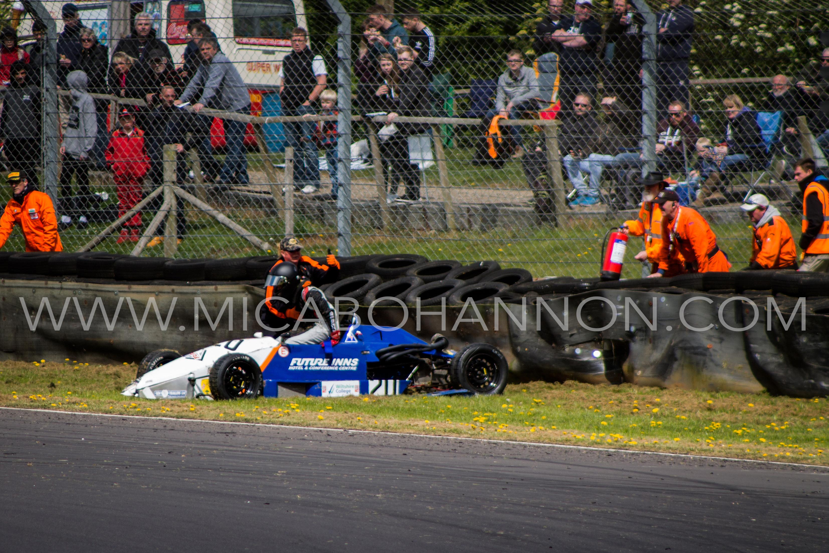 formula ford crash