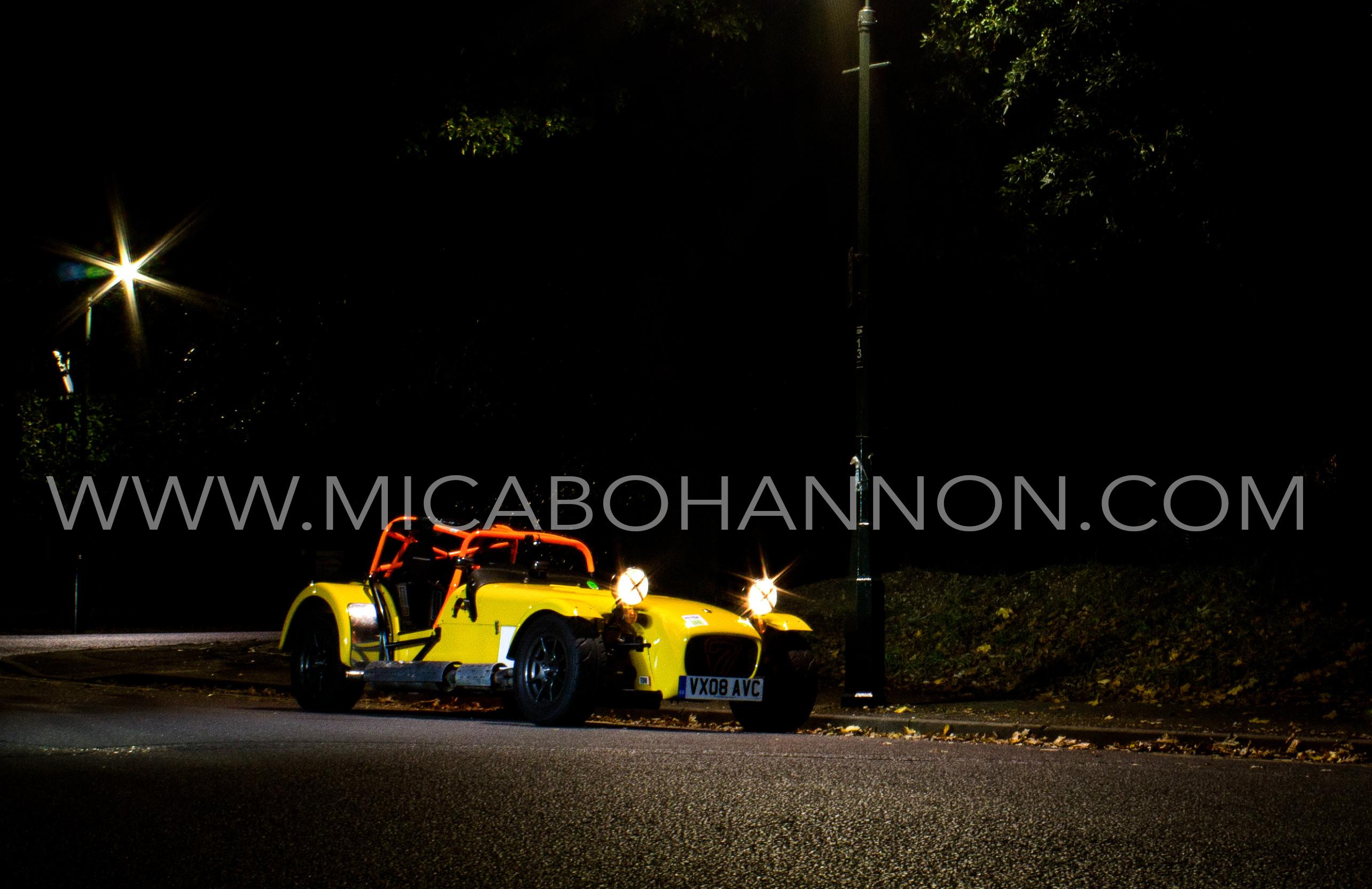 night photos of caterham