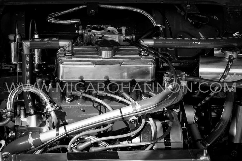 black and white engine