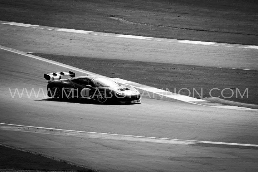 black and white racing picture