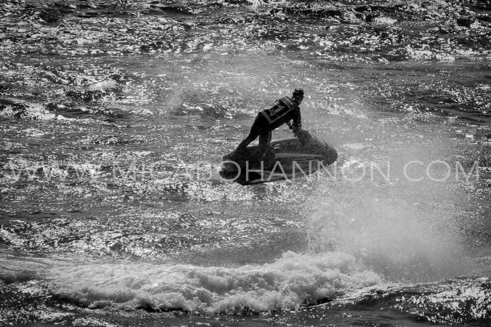 jet ski jump above water