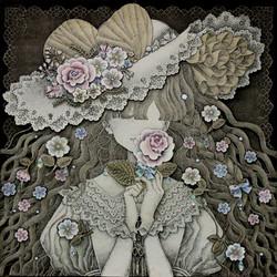 《蝶と花》