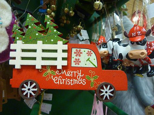 Merry Christmas Truck decoration Christm