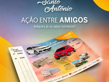 'Ação entre Amigos' da 142ª Festa de Santo Antônio será sorteada no sábado, 29 de agosto