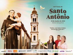"""Paróquia Santo Antônio inicia venda de ingressos para o """"Jantar do Codeguim"""" no formato drive thru"""