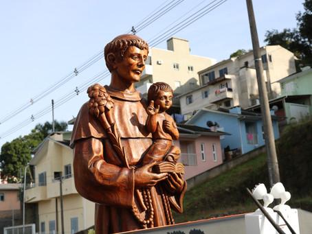 Paróquia Santo Antônio de Bento dá início ao cronograma de visitas do Padroeiro às Comunidades