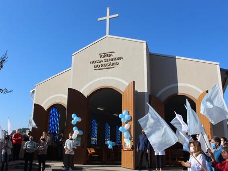 Comunidade do Progresso II celebra festa de Nossa Senhora do Rosário