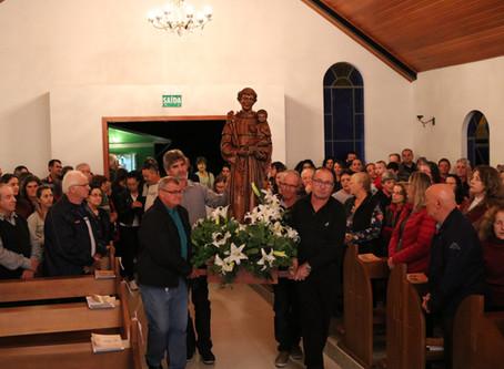 Tradicionais visitas de Santo Antônio às comunidades serão convertidas em Missas transmitidas online
