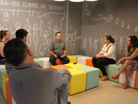 Paróquia Santo Antônio apresenta novo espaço da Catequese à imprensa de Bento Gonçalves