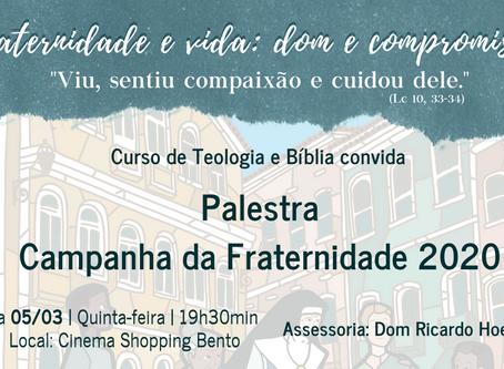 Paróquias de Bento Gonçalves promovem palestra sobre a Campanha da Fraternidade