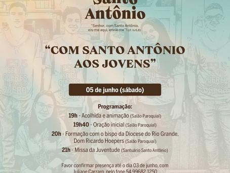 Paróquia Santo Antônio prepara ação para os jovens na 143ª edição dos festejos em Bento Gonçalves