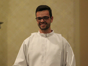 Paróquia Santo Antônio acolhe seminarista Luciano Dalmolin