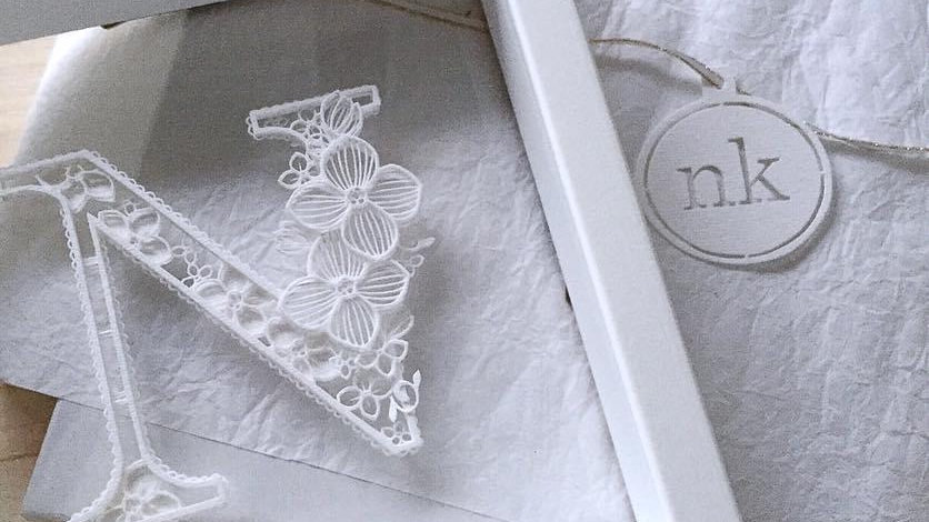 【custom-made】A decorative letter