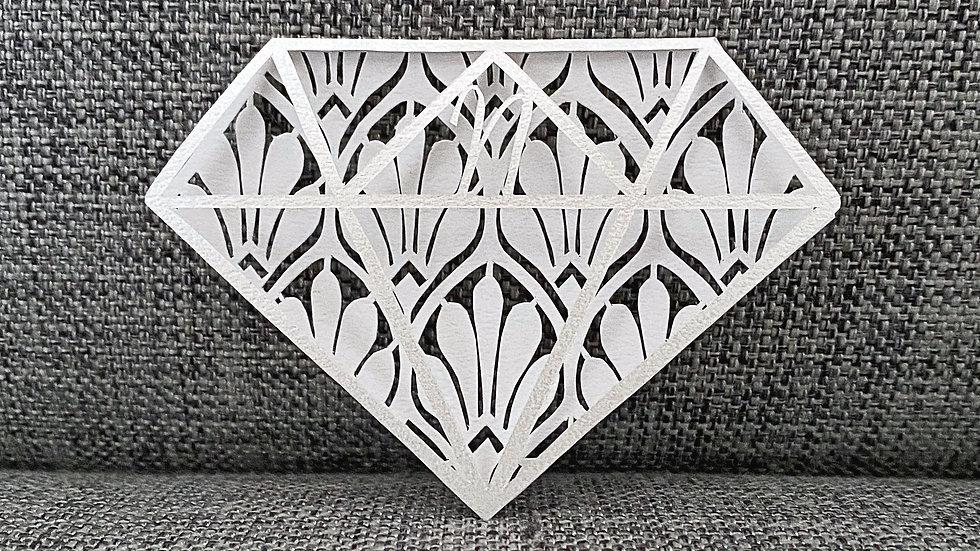 【図案】クラシックデザインのダイアモンド