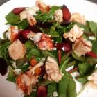 Lobster, iberico ham, & beet salad
