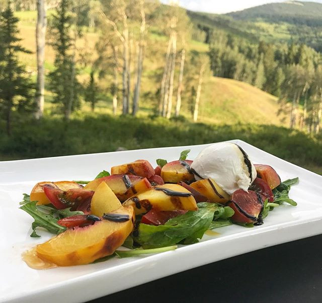 Grilled Palisade Peach Salad