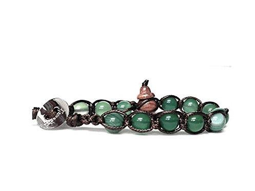 Tamashii bracciale BHS900-140 Agata Verde