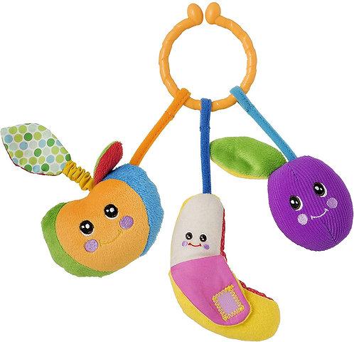 Chicco Gioco Baby Senses Tutti-Frutti Passeggio, Multicolore