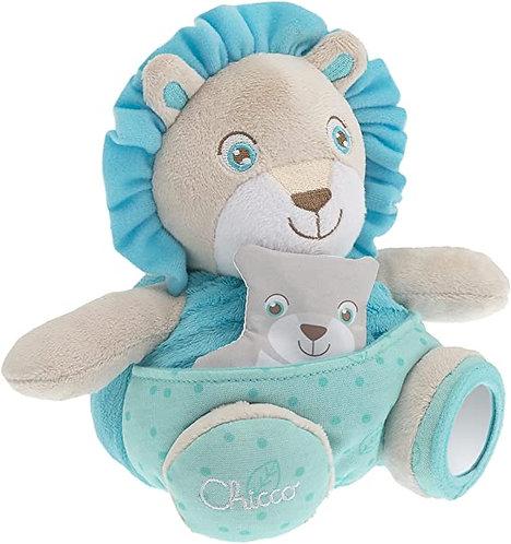 Chicco - Soft Cuddles Pupazzo, Leone, Azzurro