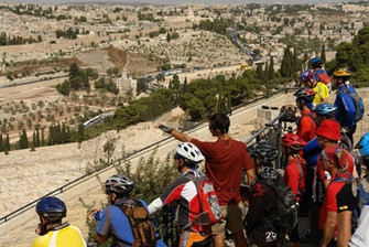 EcoBike Guide Shows Jerusalem.JPG