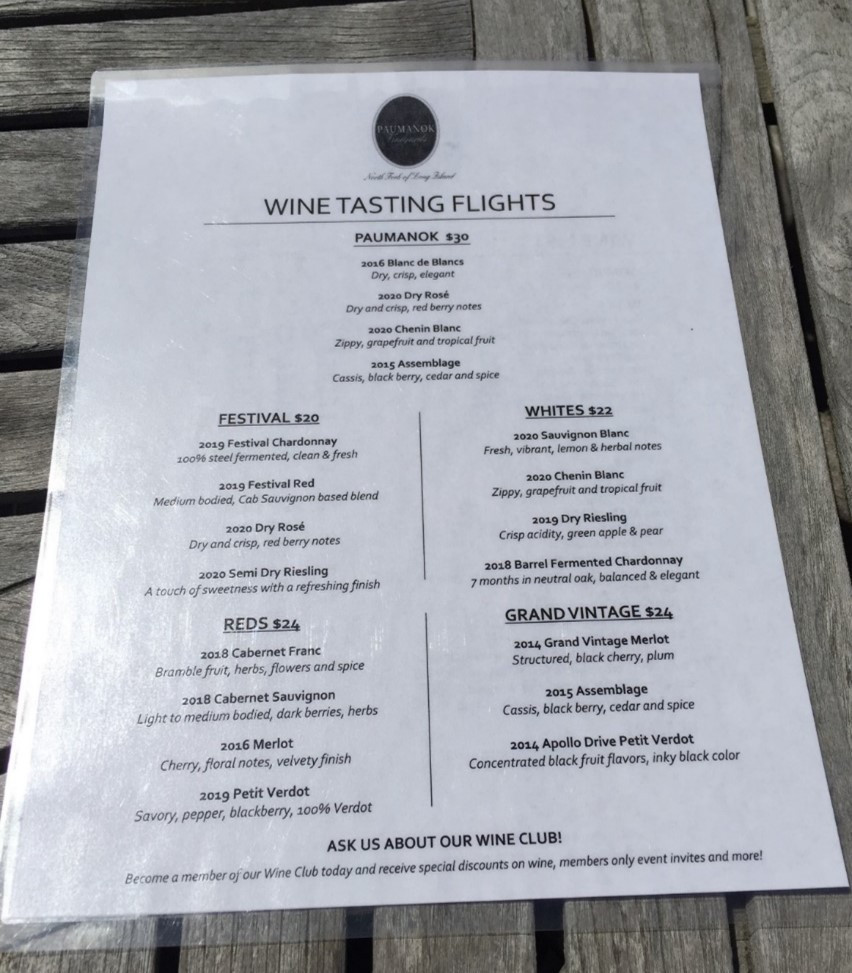 Craft Long Island North Fork wine experience