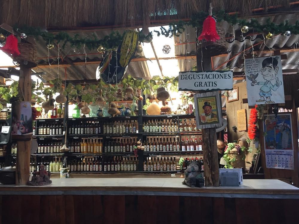 Santiago area wine experience