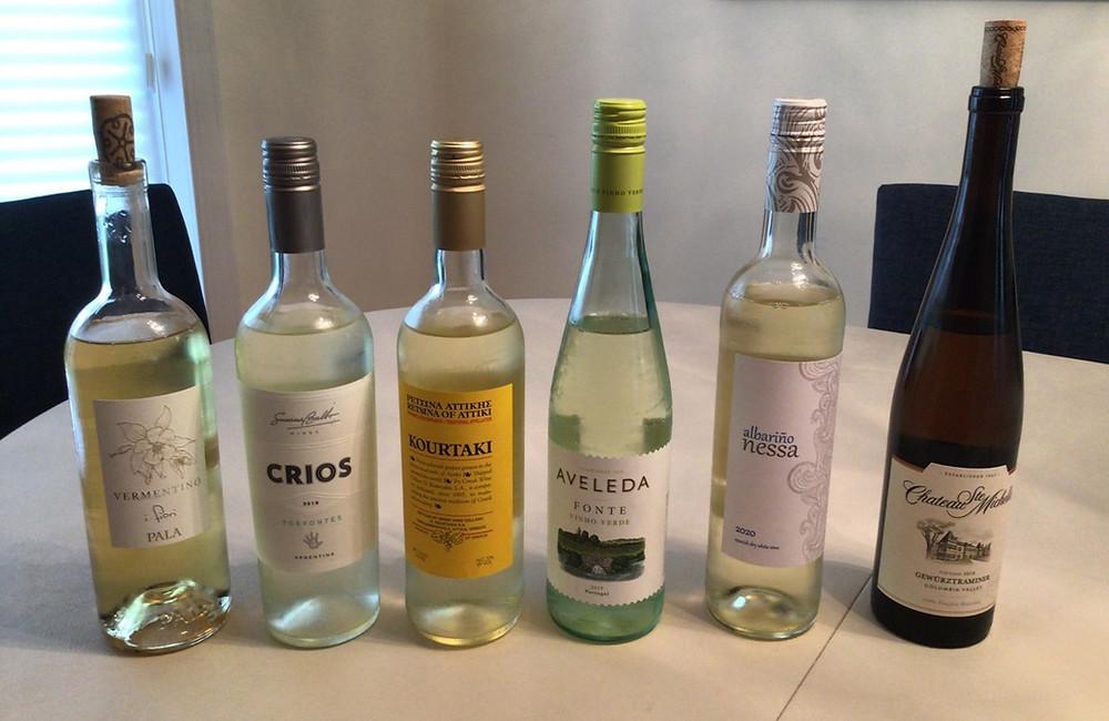 Blind wine tasting at home