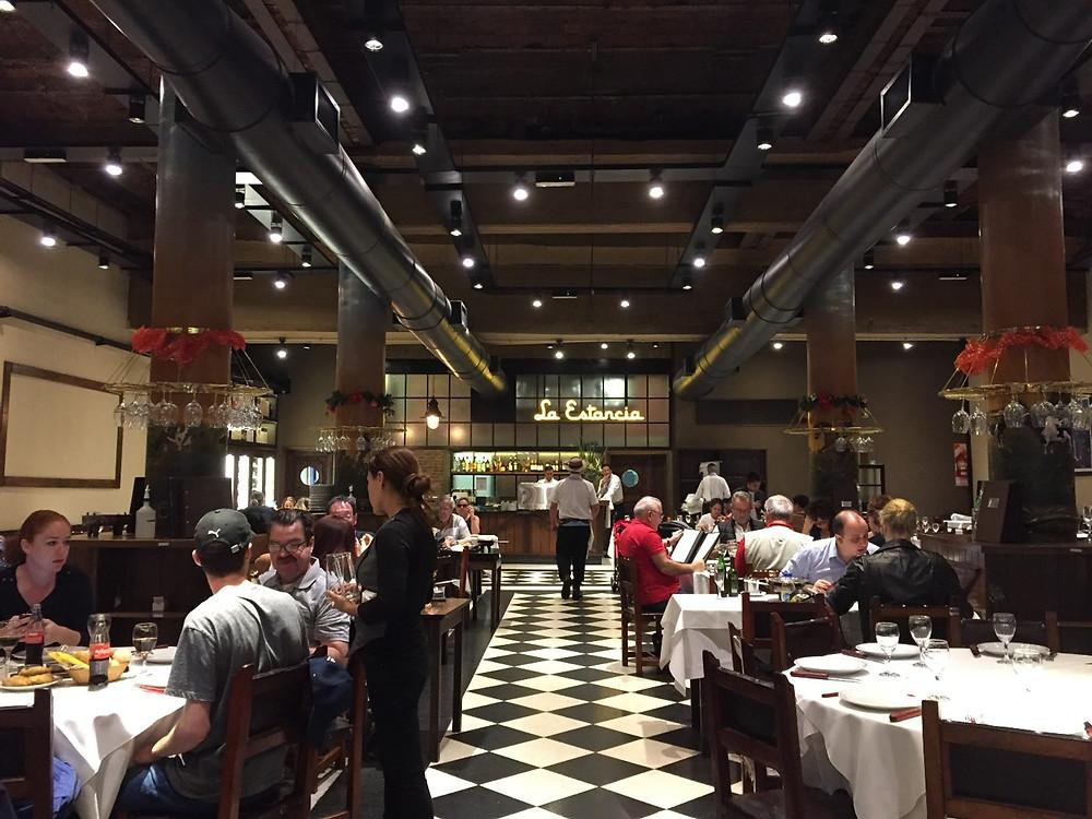 overpriced wine restaurant menu