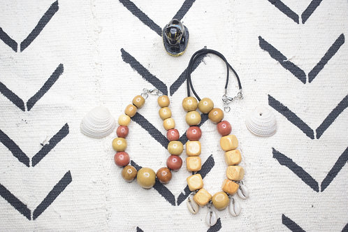 Cowrie Bead Necklace