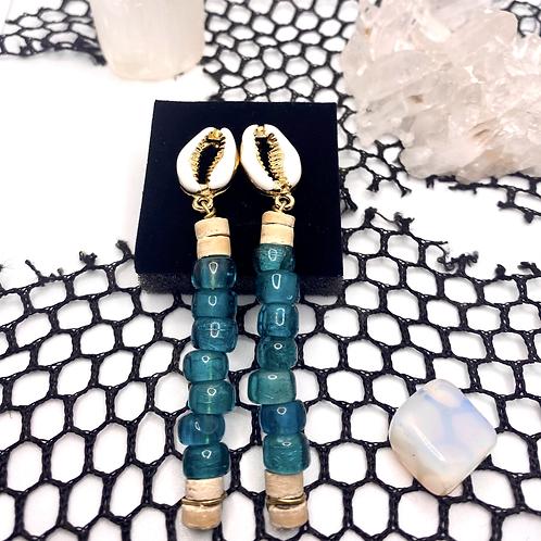 Mother of the Blue Seas Earrings