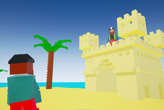 Pirates castle. Duo player survival game