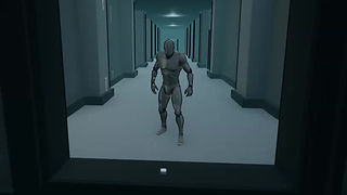 The character in the mirror is actually a seprate pawn in a different room, which mirrors the player.