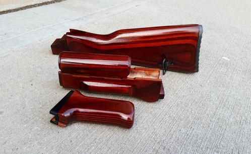 Ironwood Designs Ak 47 Stock Set Custom Finishes Ak 47