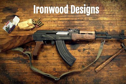 Ironwood Designs AK-47 Stock Set Custom Finishes