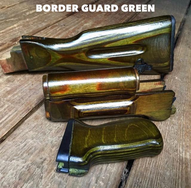 Border Guard Green AK-74