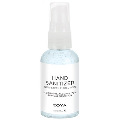 Zoya Hand Sanitizer 2oz