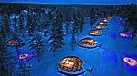 Kakslauttanen Arctic Resort è una struttura unica al mondo, immersa tra i vasti scenari incontaminati del Parco Nazionale di Urho Kekkonen in Lapponia Finlandese. Qui è disponibile un'ampia scelta di attività invernali in motoslitta, con cani husky e renne, ma soprattutto l'opportunità di trascorrere notti da sogno in igloo riscaldati con la cupola in vetro, in attesa che lo spettacolo dell'Aurora Boreale dipinga il cielo dell'Artico con incredibili onde di luce colorata.