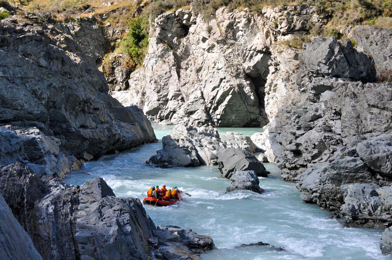 Rafting in Norvegia