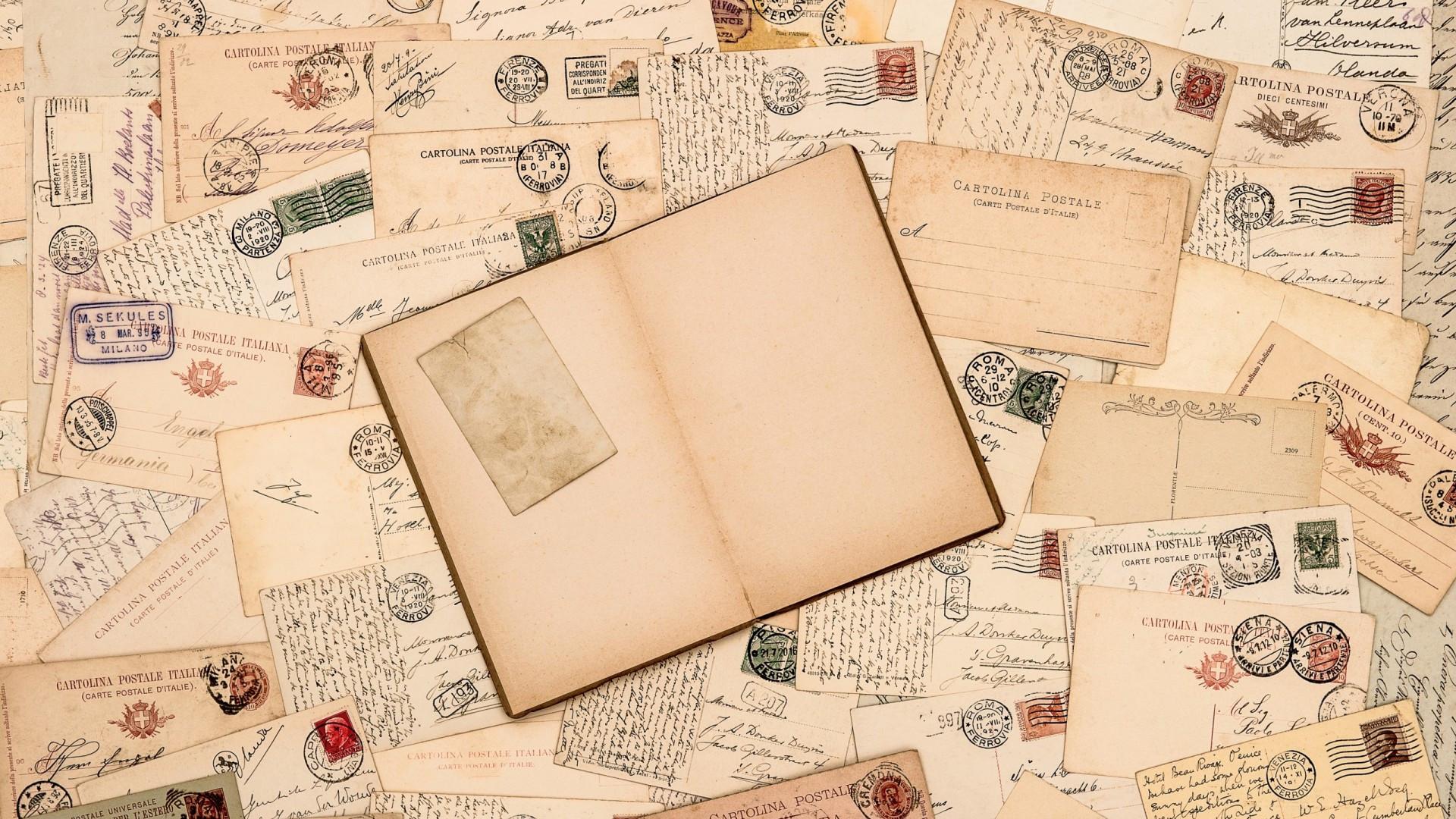 antiche cartoline
