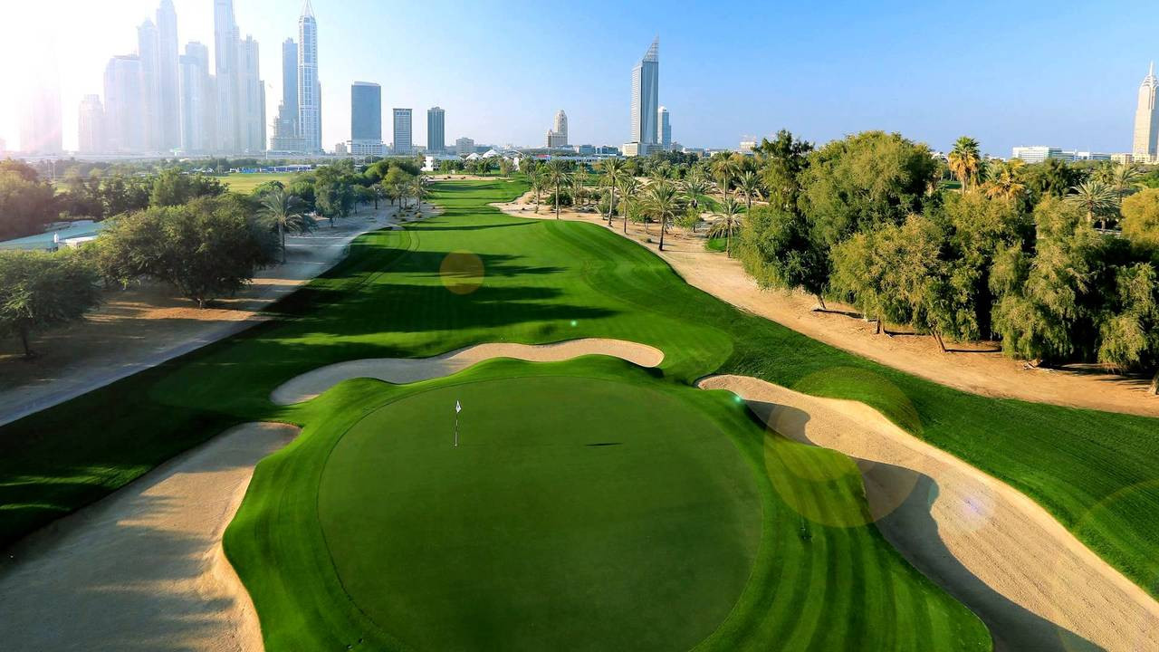 Golf a Dubai
