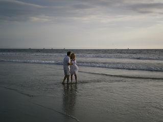 Beach at Ecuador condo Crucita Del Mar